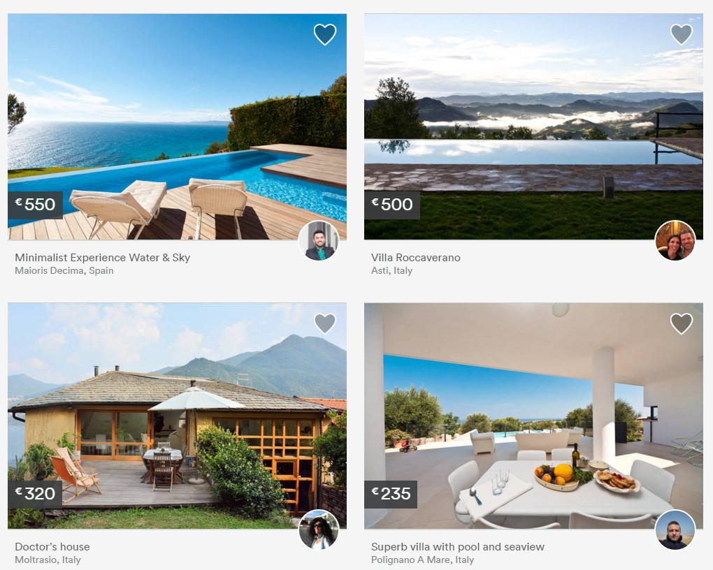 Airbnb Wohnungen