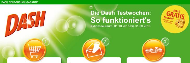 gratis Dash Testwochen