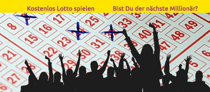 Kostenlos Lotto spielen und Sofortrente gewinnen