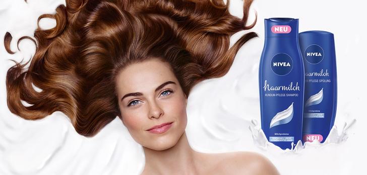 NIVEA Haarmilch-gratis testen