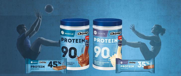 Protein Produkte Geld zurueck