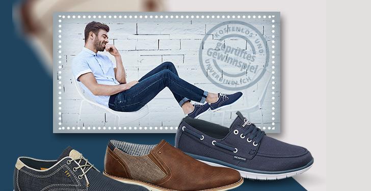 Schuhe gewinnen-kostenlos teilnehmen