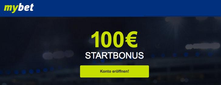 mybet- 100 euro gratis guthaben