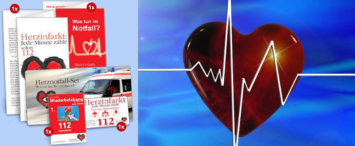 Herznotfall-Set gratis bestellen
