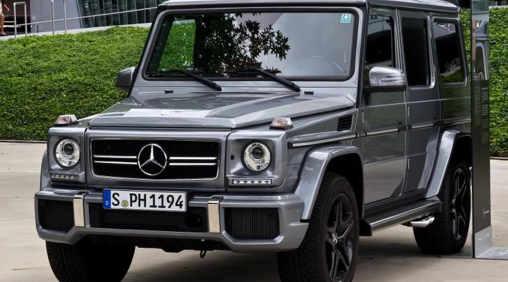 Mercedes-Benz G klasse gewinnspielteilnahme