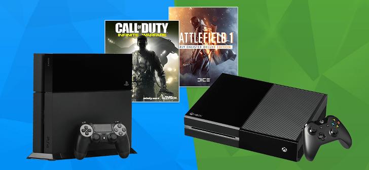 PS4 oder XBox One Gewinnspiel