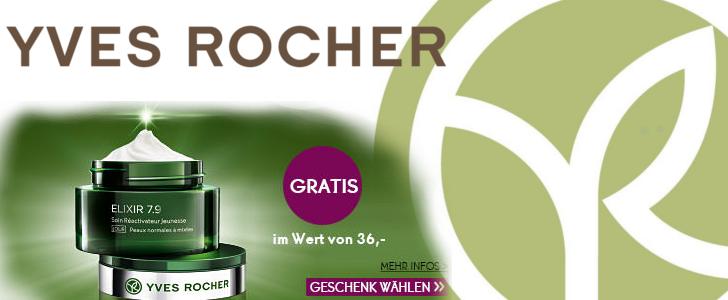 Yves rocher Elixir creme kostenlos geschenkt
