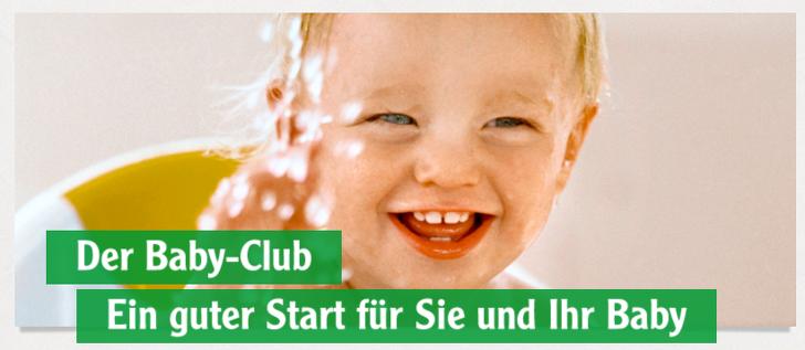 Babyclub Globus gratis geschenk abholen
