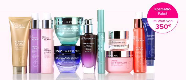 Dr. Pierre Ricaud Kosmetikprodukte gewinnen