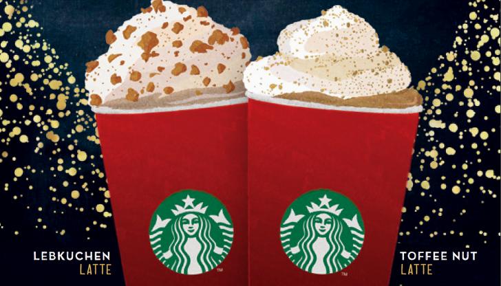 Gutschein fuer ein Starbucks getraenk