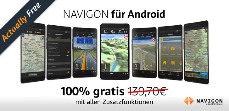 Navigon App geschenkt