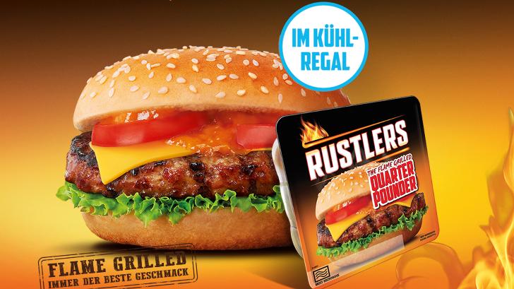 Rustlers Burger Gratis Probieren