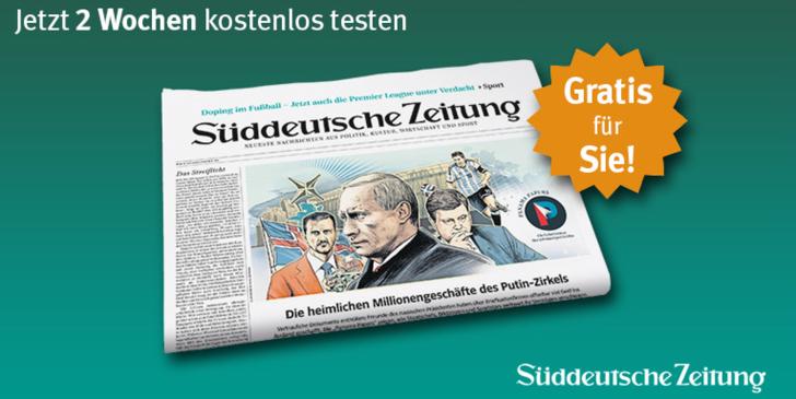 Sueddeutsche Zeitung Abo Praemie