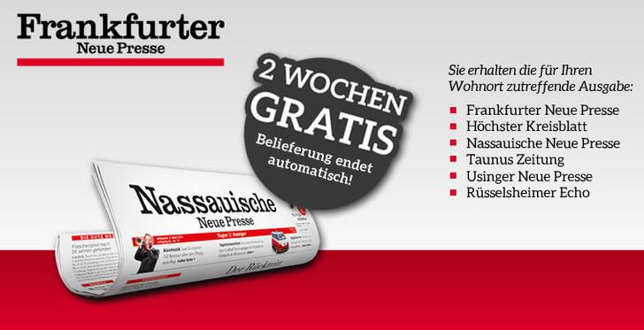 frankfurter Zeitung kostenlos lesen
