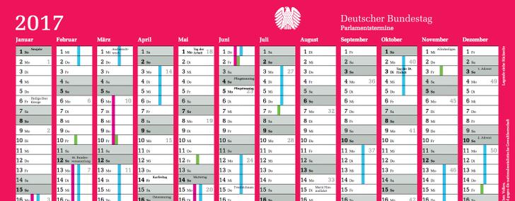 Bundestag-Kalender