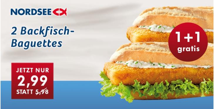 Nordsee Fisch essen Gutschein