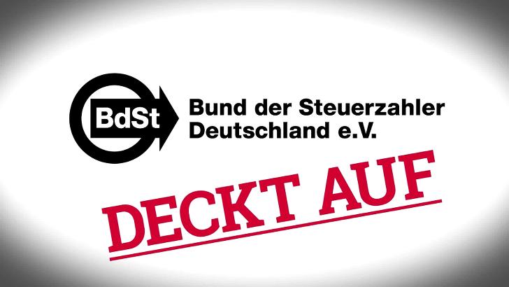 Schwarzbuch ueber Steuerverschendung bestellen