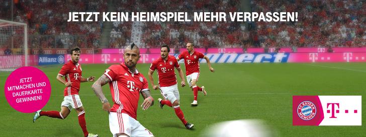Telekom Gewinnspiel FC Bayern Muenchen