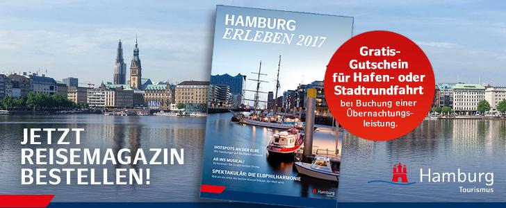 Hamburg Tourismus - gratis Katalog bestellen