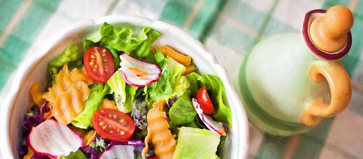 Salat geschenkt von kuehne