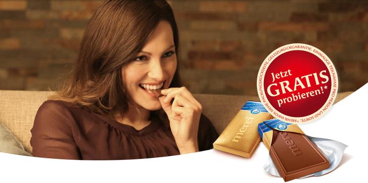 schokolade kostenlos probieren