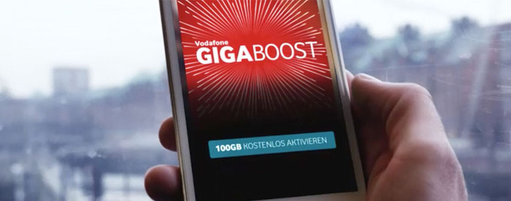 Vodafone Giga Boost 100 GB