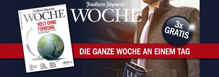 Frankfurter allgemeine Woche lesen