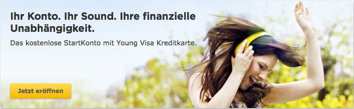 neues Konto von der Commerzbank