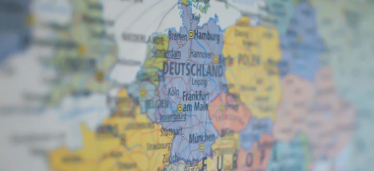 Deutschlandkarte gratis bestellen