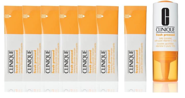 clinique fresh pressed powder gratis testen