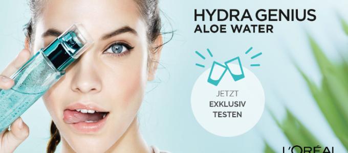L'Oréal Hydra Genius Aloe Water – Gratis testen