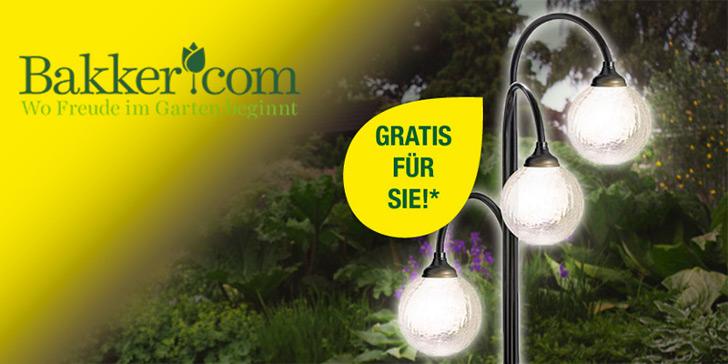 solarlampe gratis bei bakker