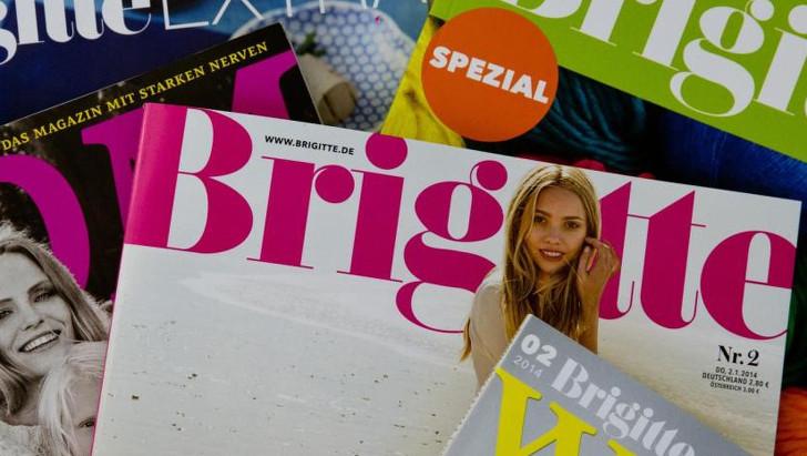 5 Ausgaben der Zeitschrift Brigitte bestellen
