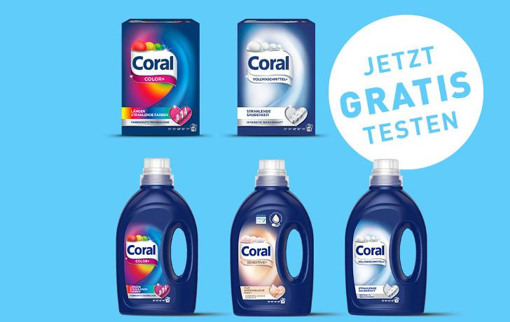 Coral gratis testen