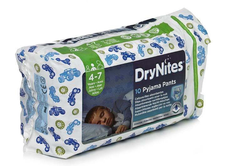 DryNites Nachthoeschen gratismuster