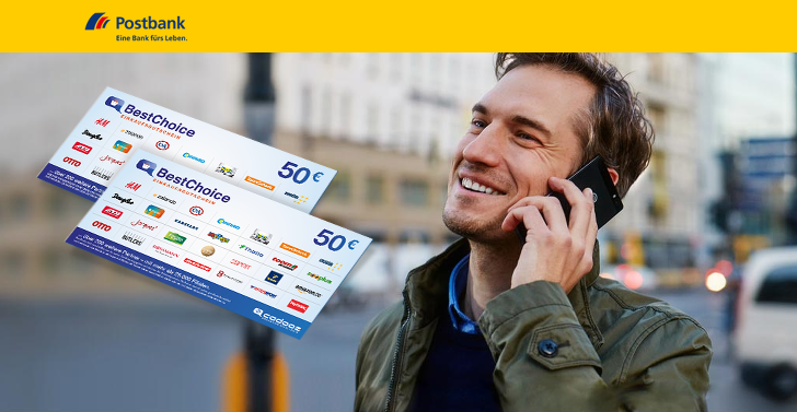 Postbank verschenkt 100 euro