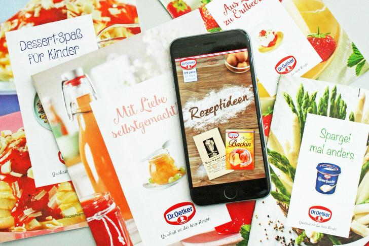 gratis Rezepteheft App von Dr. Oetker