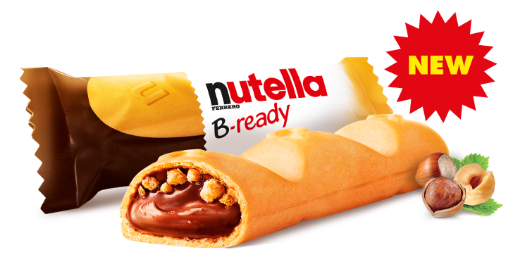 nutella bready gratis testen