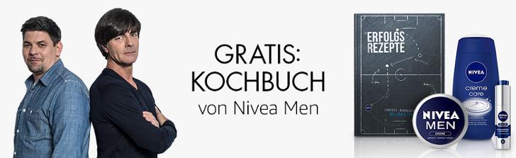 Gratis Kochbuch von Nivea Men