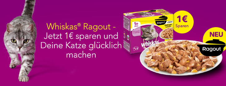 Whiskas Ragout Coupon