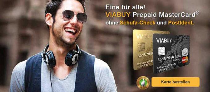 Finanzielle Sicherheit? VIABUY Prepaid Mastercard!
