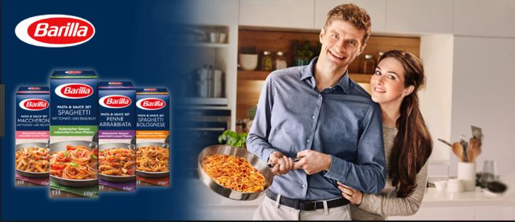 barilla Pasta und Sauce