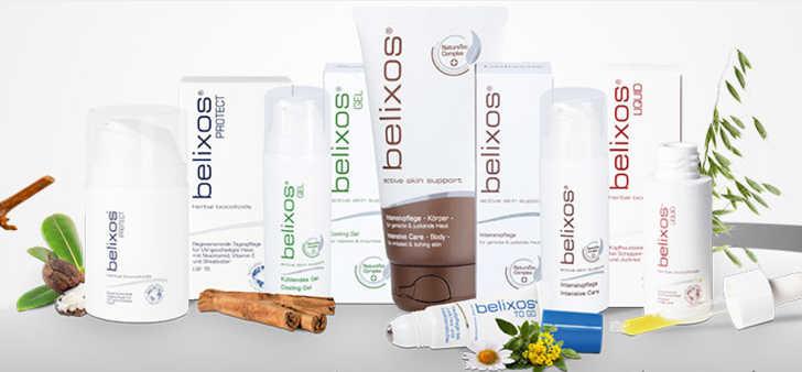 belixos gratisprobe - Spezialpflege mit aktiven Pflanzenextrakten