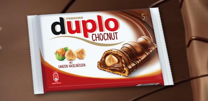 duplo Chocnut gratis testen
