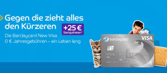 Beste Gebührenfreie Kreditkarte: Die Barclaycard New Visa
