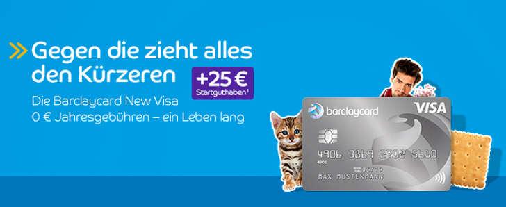 kostenlose barclay visa karte