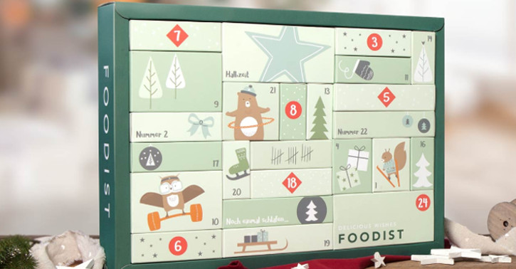 Foodist Kalender