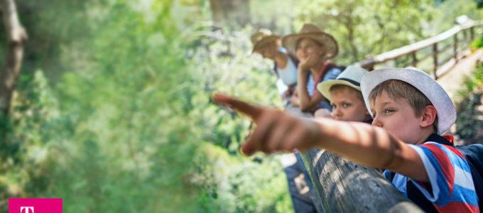 Gewinnen Sie eine tolle Familienreise mit Telekom