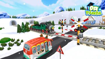 Dr Pandas Weihnachtsbus