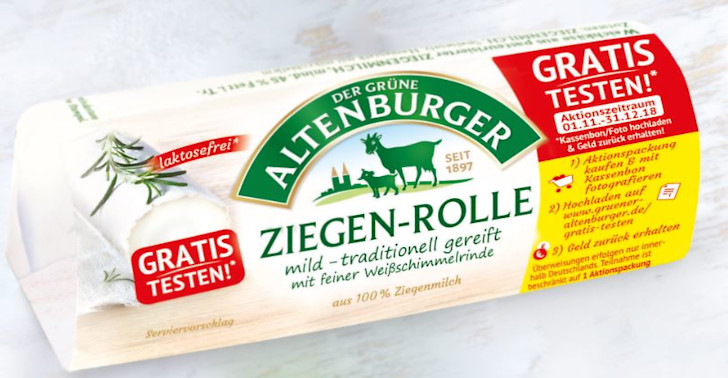 Altenburger Ziegenkäse Gratis